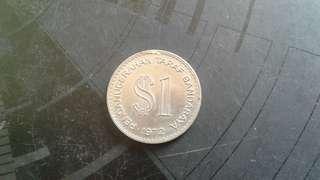 Syiling Peringatan $1 Kuala Lumpur