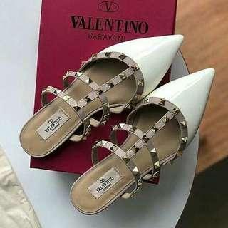 Valentino Rockstud Mules