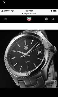 Used Authentic Tag Heuer Link Watch
