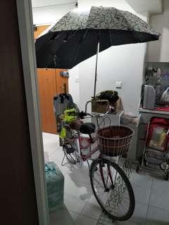 Lady Rudge Bike cum Umbrella