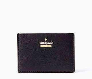 Kate Spade Cameron Street Card Holder Color: Black
