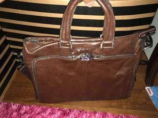Beg kerja kulit