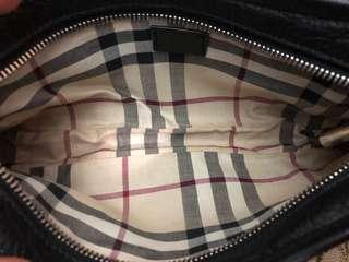 100% Authentic BURBERRY Leather Pochette