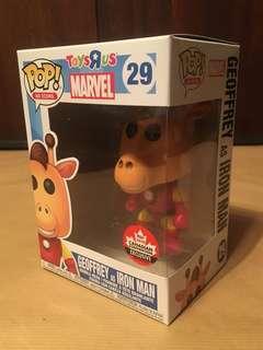 Funko Pop! Geoffrey as Iron Man