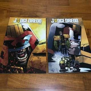 Judge Dredd Trade Paperbacks