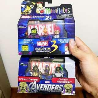 Marvel Minimates : Superskrull & Chitauri sets