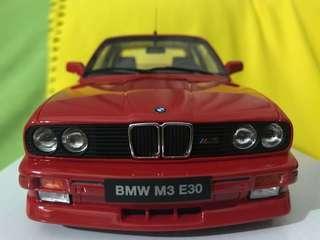 1/18 BMW E30 M3