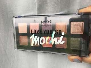 NYX love you so mochi eye palette