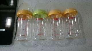 🚚 貝親寬口玻璃奶瓶160ml