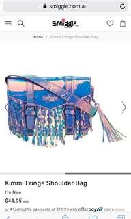 💖SALE!!!💖Authentic Smiggle Kimmi Fringe Shoulder Bag (Lilac)
