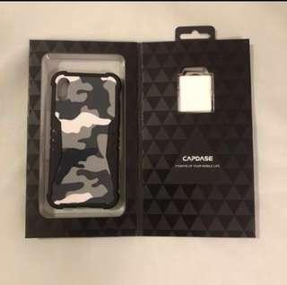 全新CAPDASE Iphone X ,XS 保護殼,連Finger holder