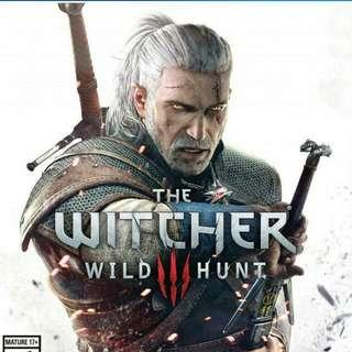 [PS4] The Witcher 3 Wild Hunt + Free Postage