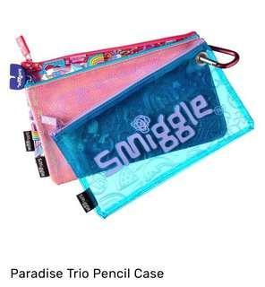 💖SALE!!!💖 Authentic Smiggle Paradise Trio Pencil Case (Pink)