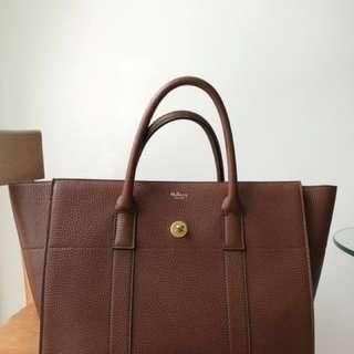 ae506221e8 Mulberry Bayswater with Strap (Oak)