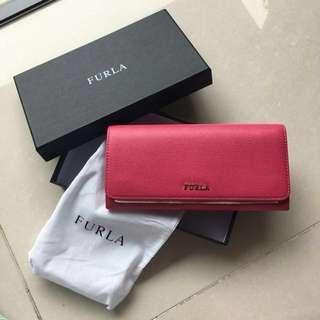 Furla Babylon XL Bifold wallet fuchsia 深粉紅色 銀包 #SELLMY1111