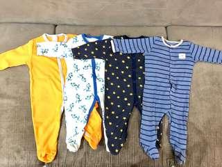 Sleepsuit Carters (4 pcs)