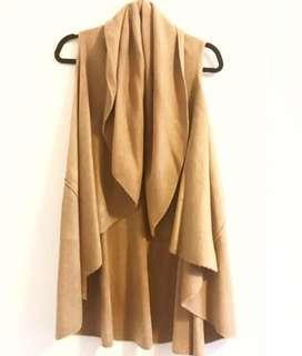 M by Mendocino Sleeveless Sweater Jacket