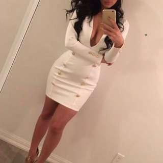 Miss Avenue White Dress