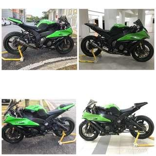 Tail Undertail Racing Bodykit for ZX10R 2011-2015