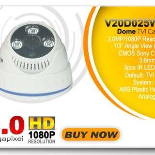 Smart Watch CCTV Dome Camera 2.0 Mega Pixel
