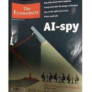 The Economist: Artificial Intelligence Spy, China, Trump and trade, Iraq