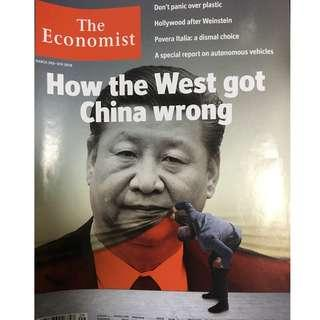 The Economist: How the west got China wrong, autonomous vehicles, Hollywood, Weinstein
