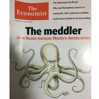 The Economist: the meddler, Russia, Brexit, South Korea, fortune telling