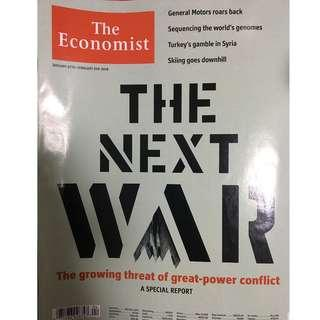 The Economist: The next war, General Motors, sequencing genomes, Turkey, Syria