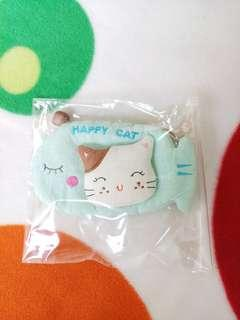 BN Crafted Embossed Kitty Key Pouch