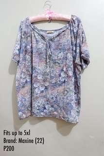 Plus size top (Maxine) 5xl