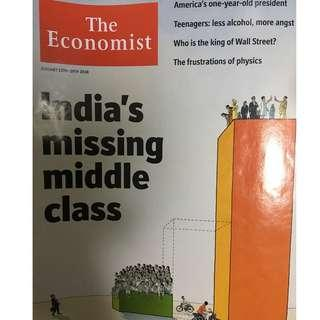 The Economist: India's missing middle class, king of Wall Street, US president, teenagers, alcohol, angst