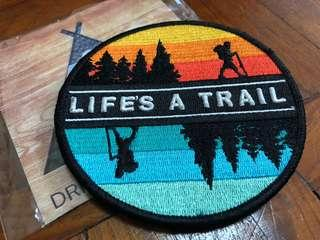 Life's a Trial Round Logo - LAT ROUND