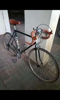Classic Raleigh Vintage Steel Bicycle