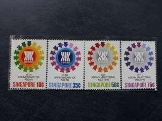 Singapore mint stamp set 1982