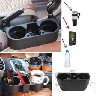 Seat Side Car Drink Cup Holder Car Auto Valet Mount Holder