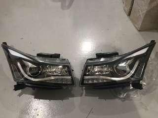 Chevrolet Cruze with LED/ DRL headlamp