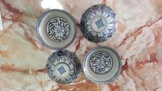 Antiques Blue White Porcelain Bowl