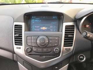 Chevrolet Cruze Multimedia, Navigation & reverse camera