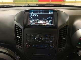 Chevrolet Orlando Multimedia, Navigation & reverse camera