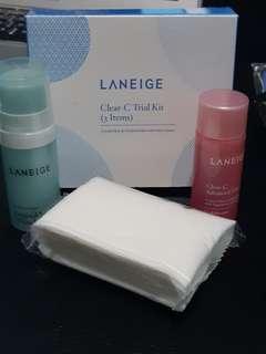 Laneige Trial kits