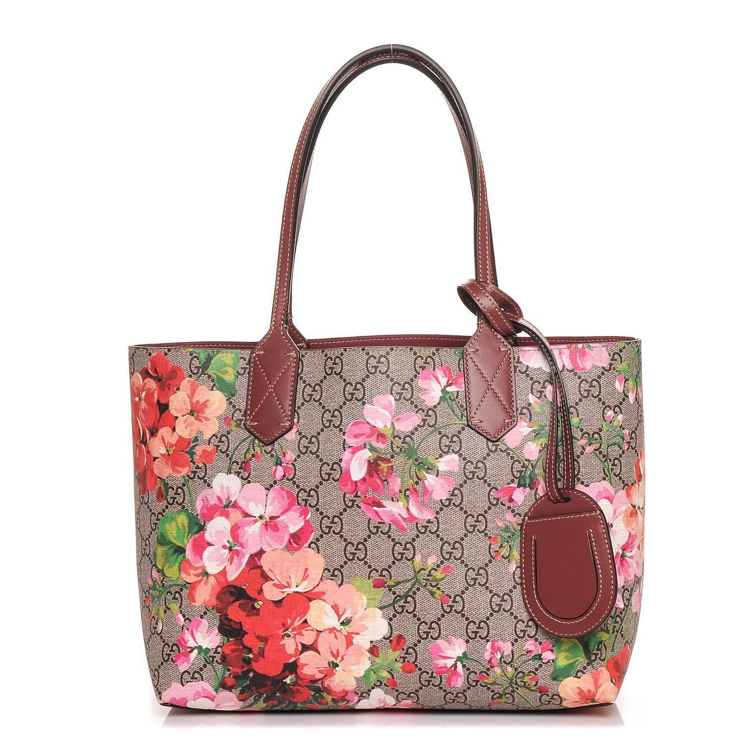 8e0c7ac1383 100% Authentic Gucci Bloom Reversible Tote bag (small), Luxury, Bags ...