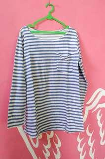 STRIPE TOP / BLUE WHITE / ATASAN BIRU / SAILOR