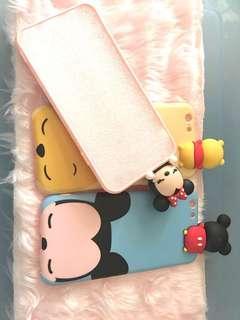 (INSTOCK)Disney Mickey Friend Bare Bears IPhone Soft Case