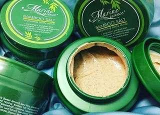 SCRUB MARINE ESSENCE BAMBOO SALT