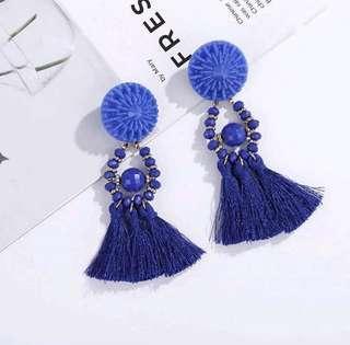 Blue Earing