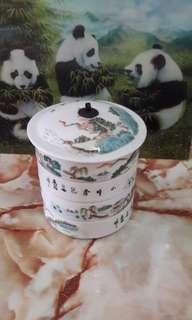 Antiques Porcelain Tiffin Bowls
