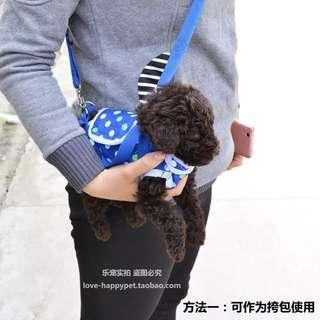 (PO) Pets Dog Outing Bag With Handle / Sling Hand Carry For Small Breed Puppy /Dog