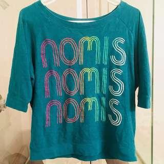 vintage NOMIS streetwear short sleeve tee