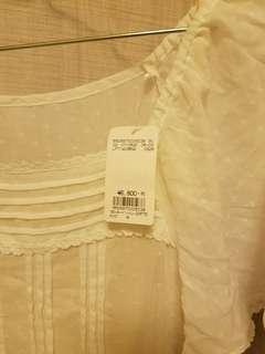全新Lowrys Farm白色長裙,購自日本