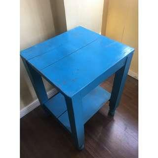 Affordable Table Stand in Blue